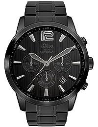 s.Oliver Time Herren-Armbanduhr SO-3337-MC