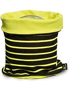 brit-M-kids - Bufanda - para niño amarillo negro, amarillo Talla única