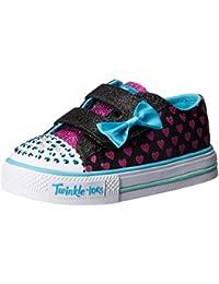 Skechers Girls's Shuffles - Sparkle Love Booties