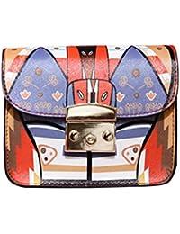 A : Women Handbag With Chain , YOYOUG Women Messenger Bag Crossbody Small Chain Shoulder Bags Tote Purse Women...
