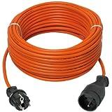 Ribitech - prepj25315r - Prolongateur électrique jardin 25m