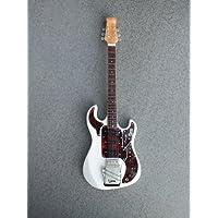 rgm622Hank Marvin quema Bass Guitarra en miniatura