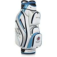 Stewart Golf staffpro Carro Bolsa, Color Blanc y Azul, tamaño Talla única