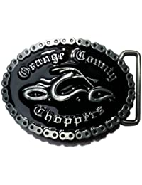 Orange County Choppers Buckle, OCC, umlaufende Kette - Gürtelschnalle