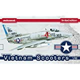 Eduard 1197 Plastic Model Kits Vietnam Scooter Limited Edition Model