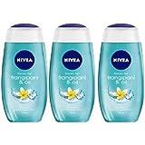Nivea Frangipani & Oil Body Wash 125 ml Each x (pack of 3) (3 x 125 ml)