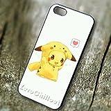 Classy Pikachu Wearing With Pikachu Costume - tr3 for Funda iphone 5 or Funda iphone 5S or Funda iphone 5SE Case P4N6JY