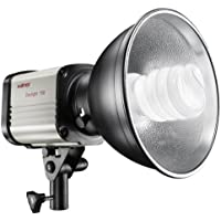 Walimex 12536 - Proyector de globos para iluminación de estudio fotográfico, color blanco