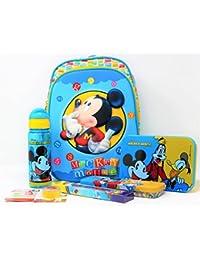 HMI Original Disney Junior 12 inch 3D EVA Embossed Kids Backpack Combo Set  with Lunch Box 3e98aafbad4cf