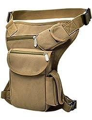 Kingnew Tactical Assault Mochila Pack Militar del Ejército Multifuncional cinturón Bolsa riñonera para Correr Senderismo Camping