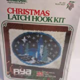 WonderArt Christmas Latch Hook Kit #4897