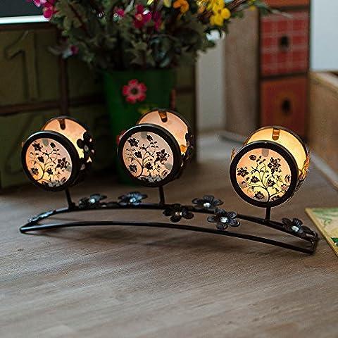 Ferro da stiro stile Art Nouveau candelabri creative accessori per