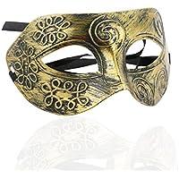 ROSENICE Maschere Travestimento Cool Uomini Adulti Greco Romano Combattente Maschera per Fancy Dress Ball Sfera Mascherata Halloween