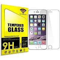 """Fologar Protector de Pantalla Cristal Templado para Iphone 6 4.7"""" Iphone 6S."""
