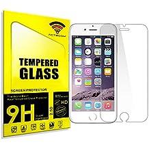 "ACTECOM® CRISTAL TEMPLADO PROTECTOR PARA IPHONE 6S / 6 4,7"" 0.26mm 9H 2,5D"