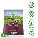 Irish Pure Adult Weiderind & Freiland-Huhn mit Kelp-Alge - Trockenfutter für Hunde, Hoher Fleischanteil,...