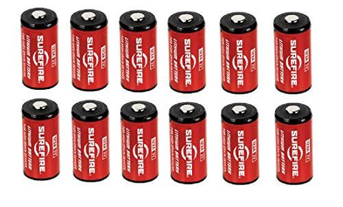Surefire 123A Lithium-Batterien Einzeln, zwei oder 12-er Set - Unboxed (12 Stk) 123a-lithium-batterien-box