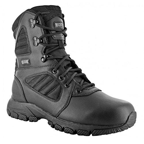 HI-TEC - Magnum Lynx 8.0 Black Schuhe Herren Boots Ranger Security Polizei Paintball Neu Größe 38 (UK 5)