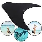 Blanketswarm Mermaid Schwimmflossen für Kinder, verstellbare Mermaid Design Schwimmen Tauchen Training Monofin Fuß Flipper Flossen (L-18 x 57x54cm)
