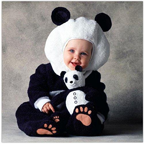 Panda Bär Kostüm Tom Arma für Babys - 6-12 ()