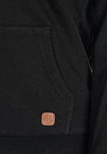 DESIRES Derby Pile Zip Damen Sweatjacke Kapuzen-Jacke Zip-Hood Stehkragen aus hochwertiger Baumwollmischung mit Teddy-Innenfutter Black (9000)