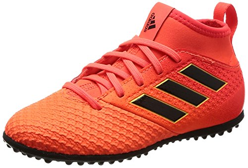 adidas Girls' Ace Tango 17.3 Tf J Footbal Shoes, Multicolor (Solar Red/Core...