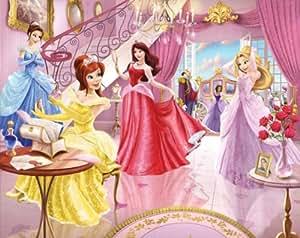 walltastic 8 x 10 ft fairy princess wallpaper mural