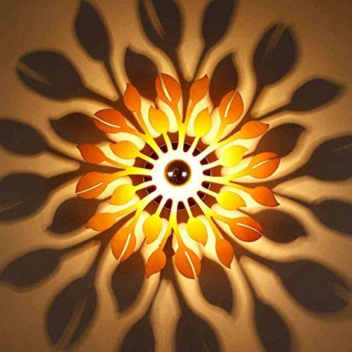 LED Aplique Americana creativo escultura sombra impermeable