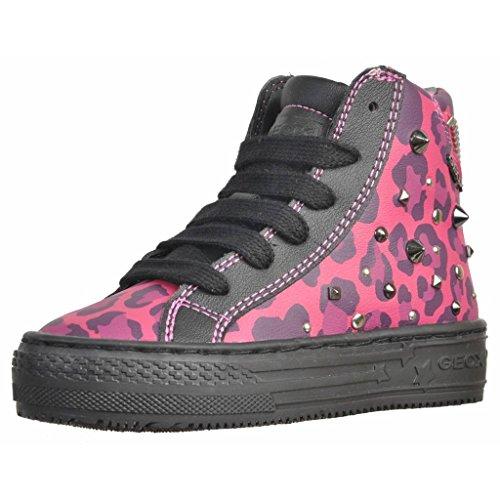 Geox J Highrock Girl Mädchen Sneaker Rosa