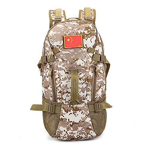 e-jiaen Rucksack 75L Hohe Kapazität Umhängetaschen/Handtasche für Speicher oder Veranstalter von Comping Wandern Reisen Mountaining Angeln Sport Zubehör C5