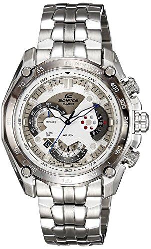 Casio ef-550d-7avdf (ed391) ed391(ed391)–Montre de Poignet pour homme, bracelet en acier inoxydable couleur argent