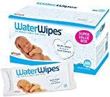 WaterWipes Sensitive Baby Wipes, 9 Packs x 60 Wipes (540 Wipes)