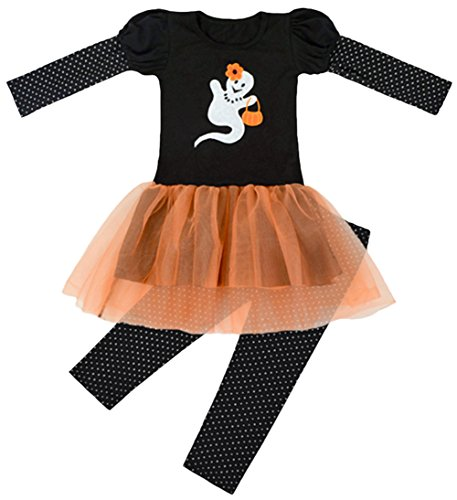 Scothen Baby Mädchen Bekleidungsset Outfits Kürbis Halloween Kostüm Kurzarm Strampler Hose+T-Shirt bequeme Strampler Bodys Saison (Baby Halloween 4 Altes Kostüme Mädchen Monat)
