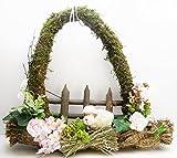 Osterkranz Schaf Dekokranz Frühlingskranz zum Hängen
