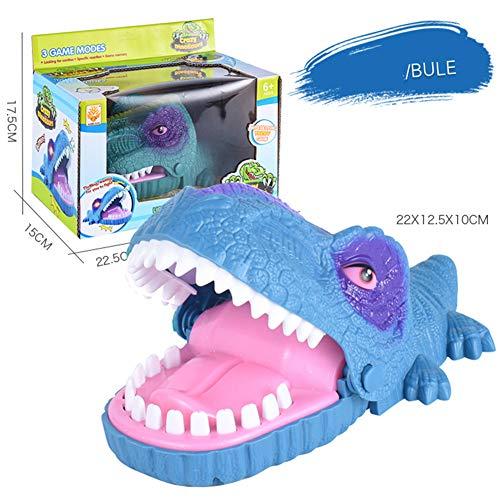 Balai Bite Finger Toy, Dinosaur Biting Finger Dentista Gioco Classico Giocattolo Divertente Regalo Divertente Giocattoli per Bambini Dinosaur