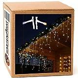Eisregen Lichterkette 6m 240 LED-Mix warmweiß/kaltweiß außen Weihnachten