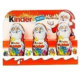 Kinder - Kleine Weihnachtsmänner Schokolade Anhänger - 3x15g/45g