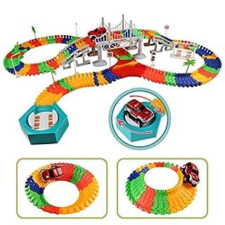 Montage Auto Spur Electric Auto Spielzeug Konstruktionsspielzeug Spiel Geschenke für Kinder 3 Jahre und Bis
