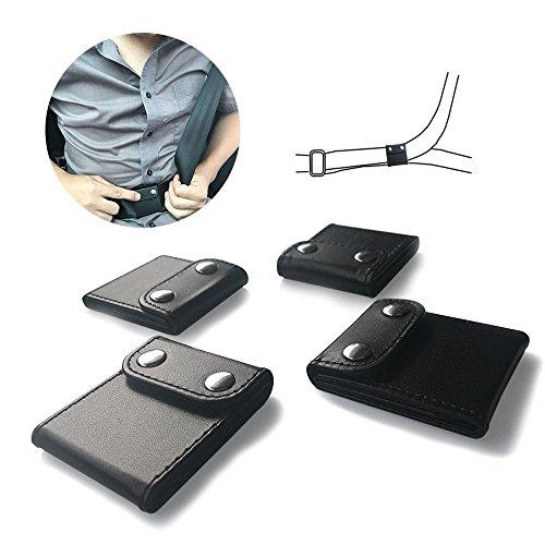 Auto-Sicherheitsgurt für Einstellknopf, jemache Komfort Universal Auto Schulter Riemen Positionierer Locking Clip, Sicherheitsgurt Sicherheit Bezüge