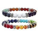 Best Jovivi Friend Wish Bracelets - Jovivi hakra Healing Crystal Semi Precious Stone Yoga Review