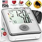 #7: Dr Trust (USA) Elegance - Automatic digital TALKING Blood Pressure Testing Monitor - (includes Adapter, Carry Bag, Batteries, Thermometer )
