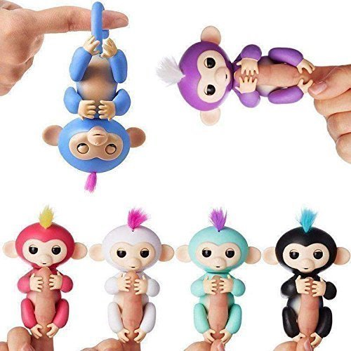 Shadow Securitronics BIS Approved Interactive Baby Monkey Toy for Kids - Random Color