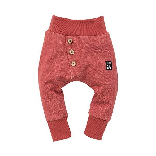 Pinokio - Happy Llama - Pantalones del bebé - Unisex 100% algodón - con Cintura elástica | Pantalones de chándal 1