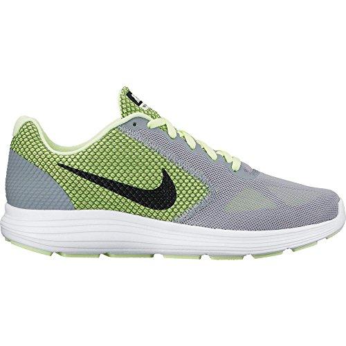Nike Lunarglide 7 Scarpe da ginnastica, Uomo Grigio/nero-rosso (Blue Grey/Blk-Nght Mrn-Gym Rd)
