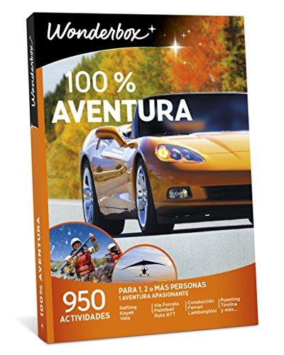 WONDERBOX Caja Regalo -100% Aventura- 950 Actividades para una o más Personas