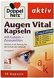 Doppelherz aktiv Augen Vital Kapseln mit Lutein plus Zeaxanthin, 30 Kapseln, 20.2 g