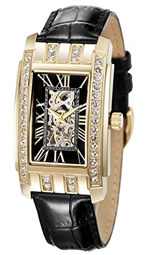 Reichenbach Woman Automatic Watch HARTIG Black 50 mm