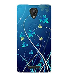 printtech Floral Vine Abstract Back Case Cover for Xiaomi Redmi 3s