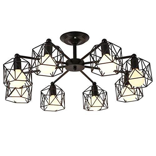 Lustre Le lustre élégant LED 8 de plafond est idéal pour le couloir de salle à manger de chambre à coucher de salon