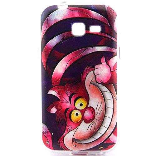 Fenrad®Samsung Galaxy Trend Lite--Etui Housse Coque TPU Gel Cover Case pour Samsung Galaxy Trend Lite S7390/S7392 Silicone Étui Housse Protecteur--style-6